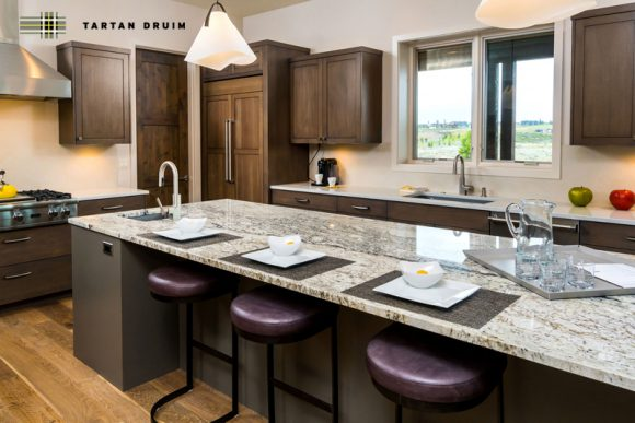 kitchen at Tartan Druim