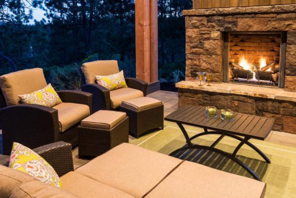 outdoor patio-fireplace-PointsWest
